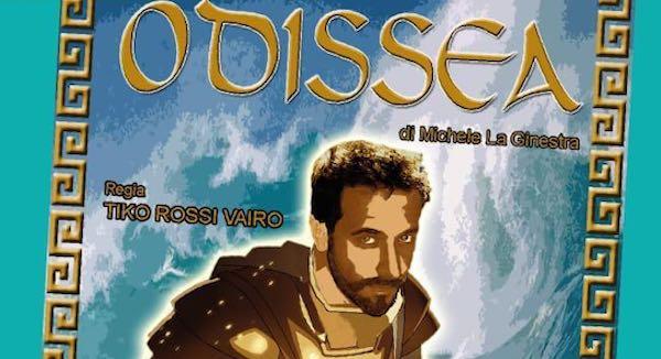 Al Bianconi, l'Odissea per bambini riscritta e rivista da Michele La Ginestra