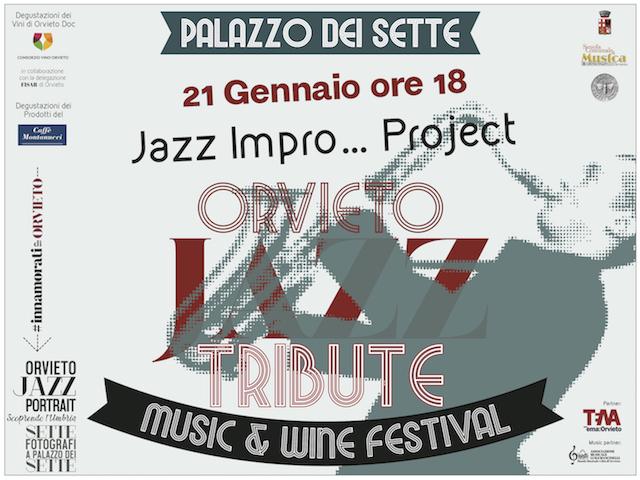 Orvieto Jazz Tribute, secondo appuntamento al Palazzo dei Sette