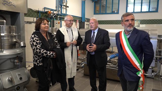 Nuove sfide per l'Oleificio Pian delle Vigne. Investiti 100.000 euro per la modernizzazione