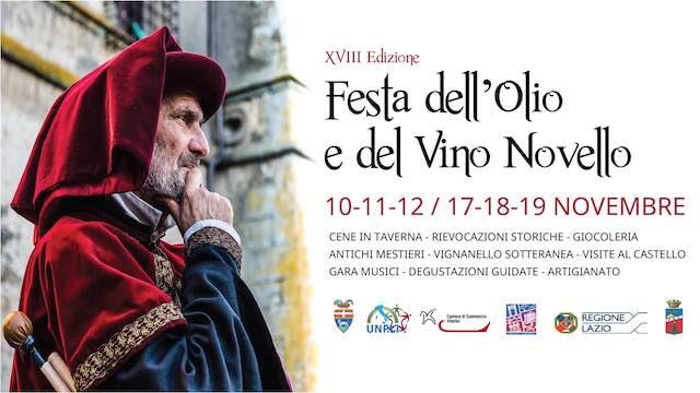 Mercatino medievale e degustazioni alla Festa dell'Olio e del Vino Novello