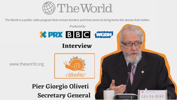 """""""Cittaslow is a solution hub"""". La BBC intervista il segretario generale Oliveti"""