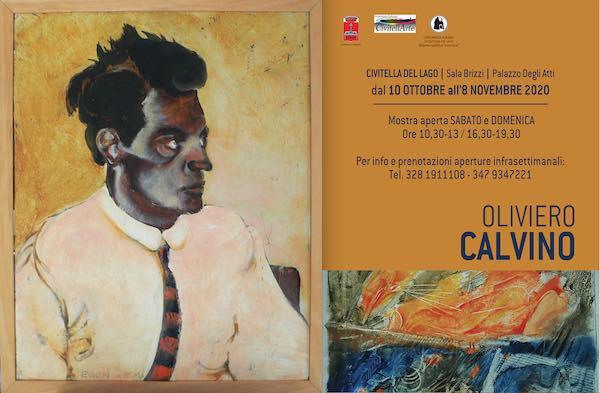 """Mostra antologica di Oliviero Calvino a Civitella del Lago, """"luogo dell'anima"""""""