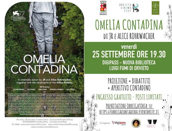 """In Biblioteca """"Omelia Contadina"""". A Orvieto la prima proieizione dopo Venezia"""