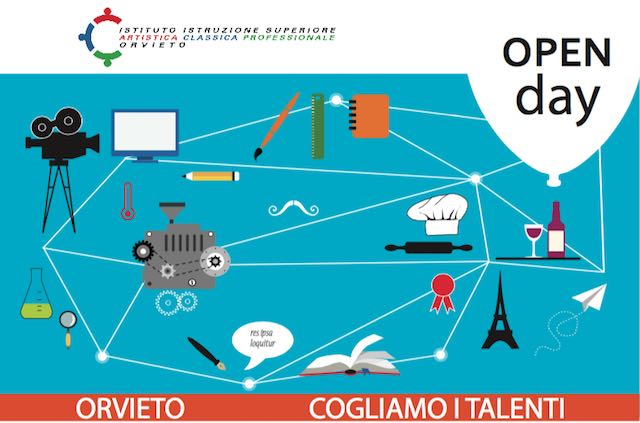 Open Day all'Istituto di Istruzione Superiore Artistico Classico e Professionale