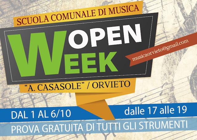 Open Week alla Scuola Comunale di Musica Adriano Casasole