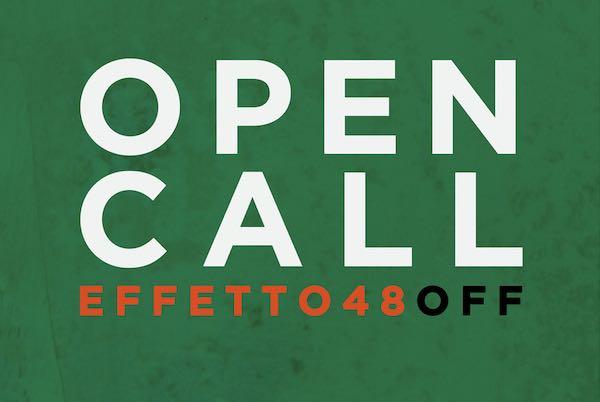 """Spettacolo, una """"open call"""" per i giovani del Trasimeno in vista del Festival """"Effetto 48 OFF"""""""