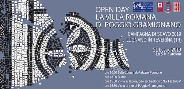 Open Day alla Villa Romana. Serata con gli archeologi americani