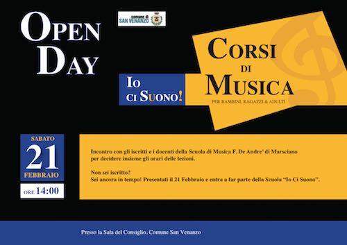 """Open Day alla Scuola di Musica """"Fabrizio De Andrè"""""""