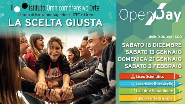 Open Day all'Istituto Omnicomprensivo. Porte aperte a studenti e famiglie