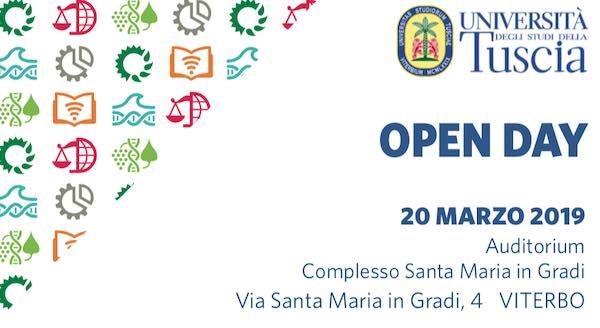 Unitus, c'è l'Open Day a Santa Maria in Gradi