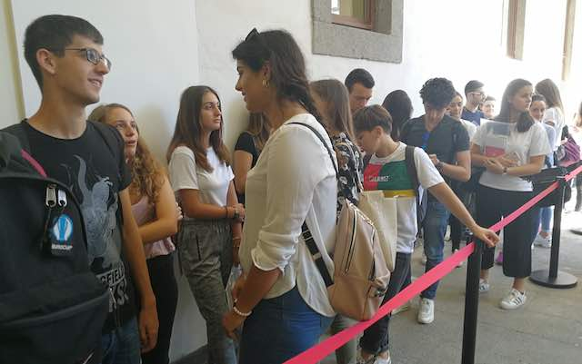 Open Day Unitus, in tanti a S.Maria in Gradi per conoscere l'offerta formativa
