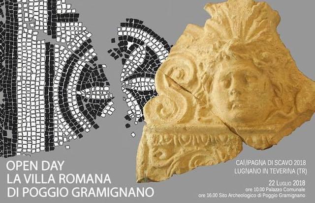 La Villa Romana di Poggio Gramignano. Open day, cena e convegno