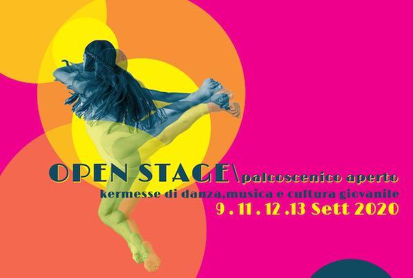 """Danza, musica e cultura giovanile nella prima edizione di """"Open Stage. Palcoscenico Aperto"""""""