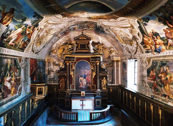 Oratorio della Misericordia, si presentano i restauri del coro e della cantoria