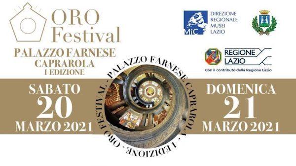 """Successo in streaming per """"Oro Festival"""". """"Palazzo Farnese, la cornice ideale"""""""