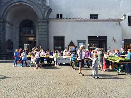 """""""Orto in condotta"""" in piazza della Repubblica con Slow Food"""