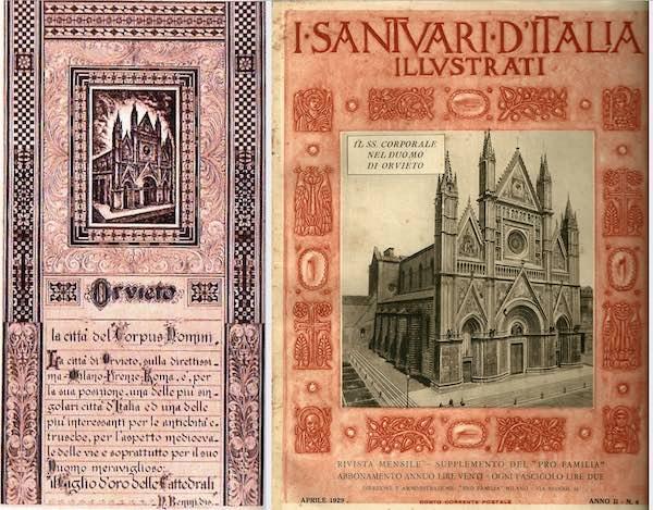 Da Orvieto esposizione del Sacro Corporale per il grave momento dell'umanità