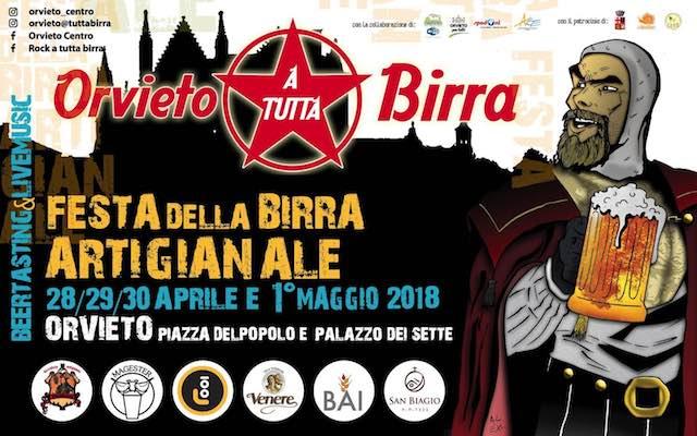"""Seconda edizione per """"Orvieto a tutta birra"""". In Piazza del Popolo, la Festa della Birra Artigianale"""