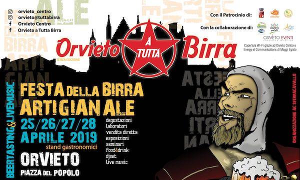 """In Piazza del Popolo torna """"Orvieto A Tutta Birra"""""""