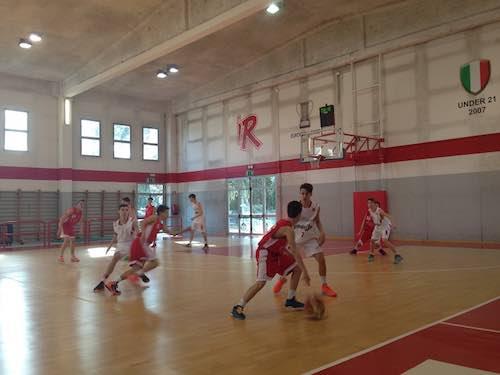 Orvieto Basket. Under 15 in trasferta a Reggio Emilia