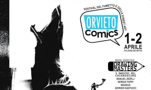 """Sesta edizione per """"Orvieto Comics. Festival del Fumetto e della Street Art"""""""