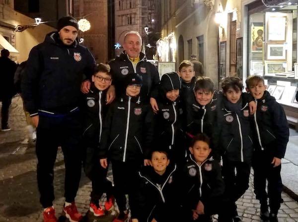 Orvieto FC, giovanissimi in trasferta per la due giorni di allenamento alla Parma Academy