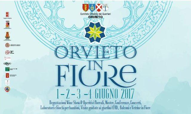 """""""Orvieto in Fiore 2017"""", tanti gli appuntamenti per una festa nella Festa della Palombella"""