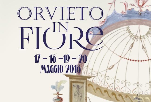 """Con """"Orvieto in Fiore 2018"""" nel weekend della Palombella, fiorisce l'accoglienza"""