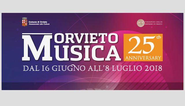 """Per """"Orvieto Musica 2018"""", weekend ricco di appuntamenti"""