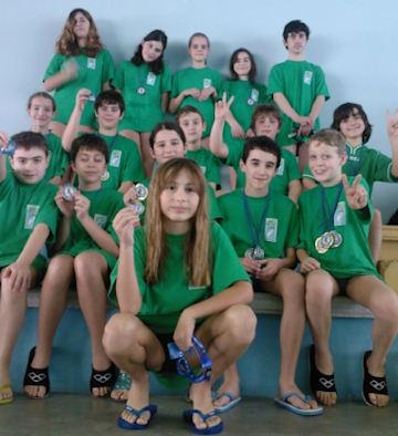 Grande debutto dell'Orvieto Nuoto 97 nel settore propaganda