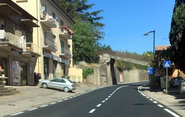 Ad Orvieto Scalo ultimati nei tempi previsti i lavori sulla strada regionale 71