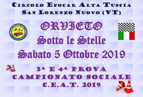 """Sesta edizione per il raduno di auto storiche """"Orvieto sotto le Stelle"""""""