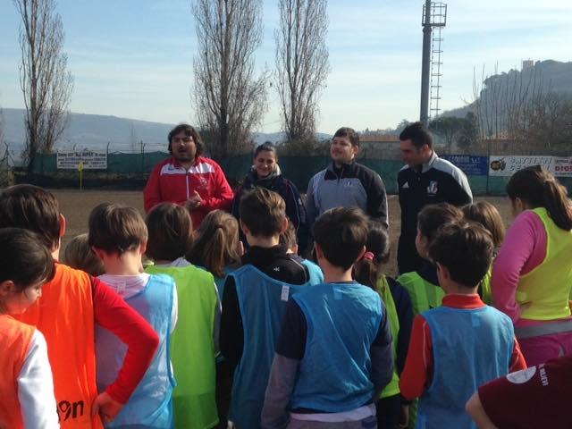 #OrvietOvale, il rugby si insegna a scuola