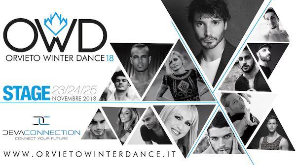 """""""Orvieto Winter Dance"""", Stefano De Martino special guest della tre giorni"""