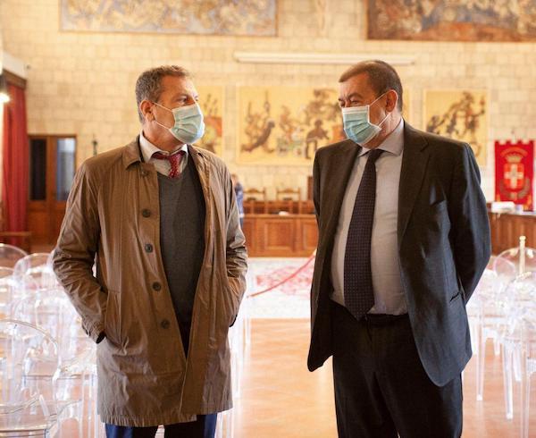 Il direttore generale dei musei del Ministero della Cultura in visita a Tarquinia