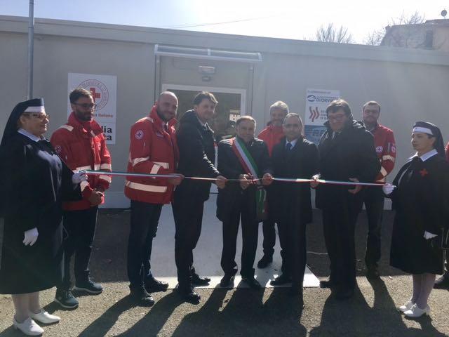 Inaugurato il nuovo presidio sanitario a Cascia, 260 mq per garantire i servizi essenziali
