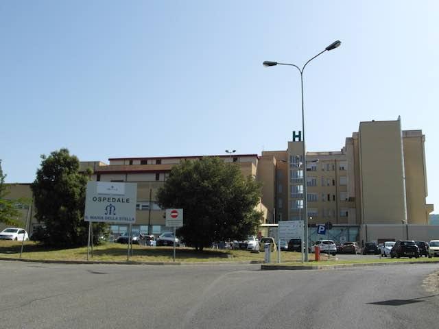 Gli alberi mancanti all'ospedale di Orvieto
