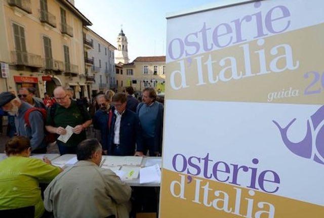 "Umbria in piazza, Slow Food presenta la guida ""Osterie d'Italia 2017"""