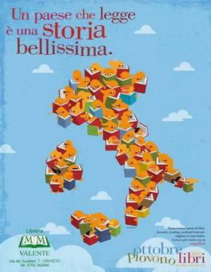 """Ottobre piovono libri: piccoli lettori in libreria. """"Letture in libreria"""" alla Valente di Orvieto dedicate ai più piccoli"""