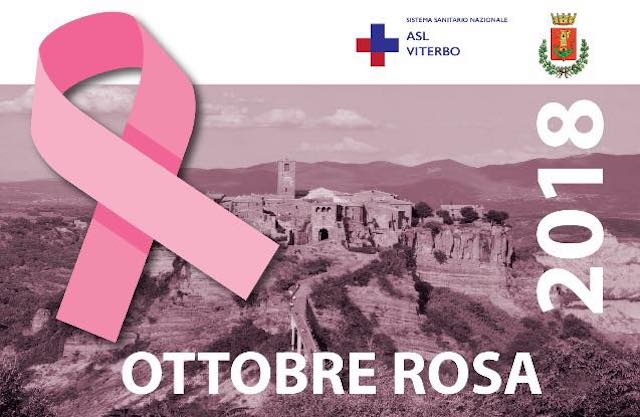 Civita si illumina di rosa per la prevenzione del tumore al seno