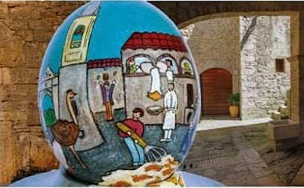 Le uova del Museo dell'Ovo Pinto in mostra al Maec di Cortona
