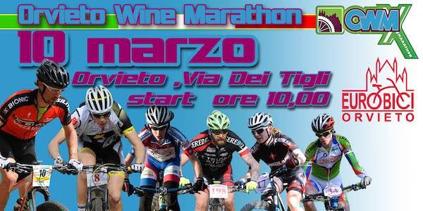 """In sella per la competizione ciclistica """"Orvieto Wine Marathon 2019"""""""