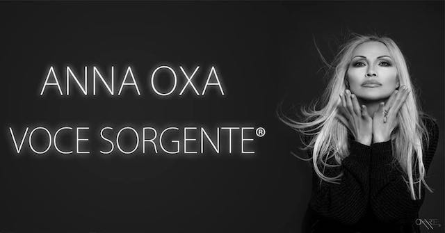 """Tappa gratuita per il """"Voce Sorgente Tour"""" di Anna Oxa"""