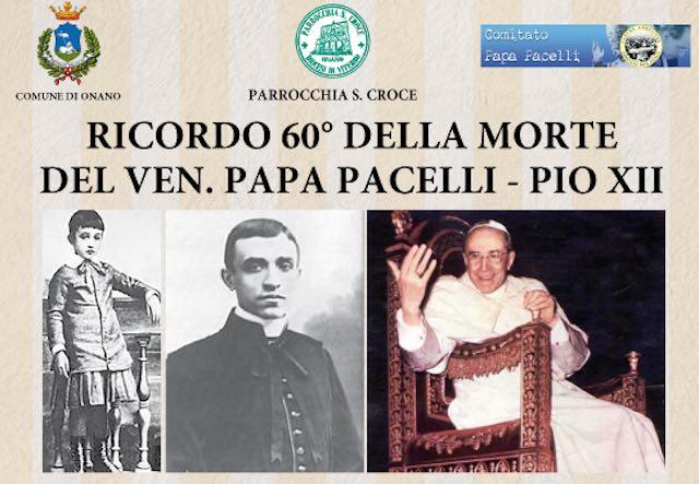 La Parrocchia ricorda i 60 anni della morte di Papa Pio XII