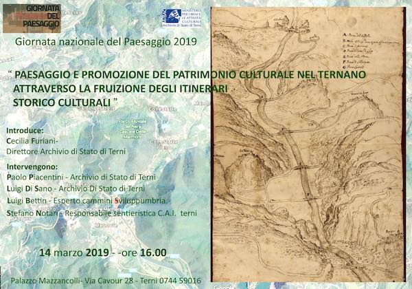 """""""Paesaggio e promozione del patrimonio culturale nel Ternano"""""""