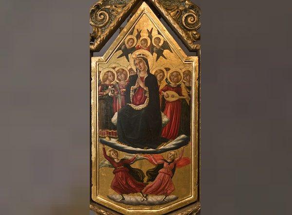 Ricollocazione della Pala dell'Alunno nella Chiesa di Santa Maria Assunta