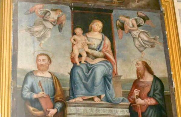 La pala d'altare di Monteleone d'Orvieto diventa e-book