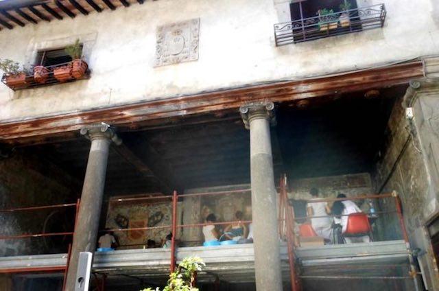 Restauro in corso a Palazzo Gallo. Cantieri aperti per visita al gioiello di Bagnaia