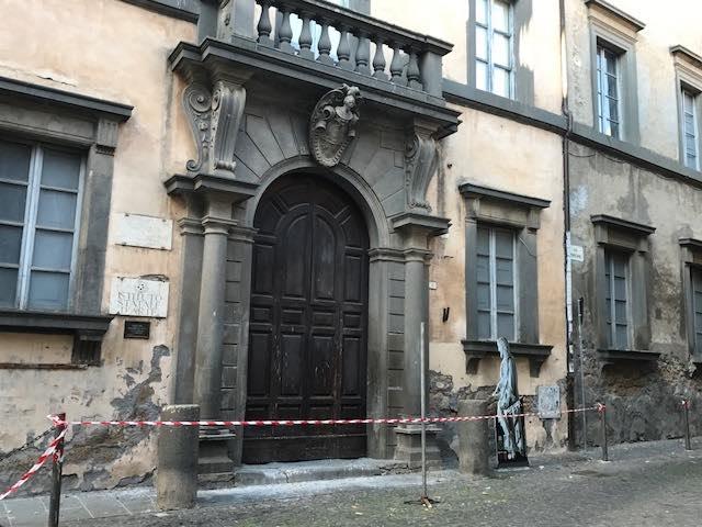 Rumori di lavori in corso a Palazzo Monaldeschi, Olimpieri (IeT) interroga il Comune