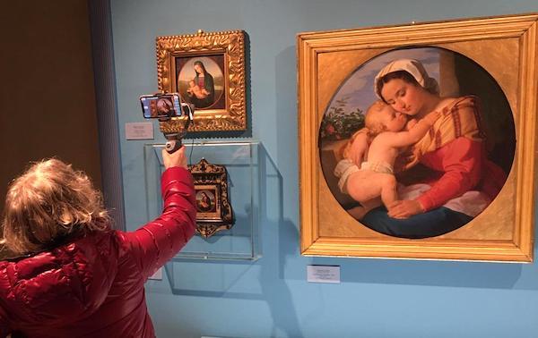 Da tutto il mondo collegati in diretta per scoprire l'arte e la bellezza di Palazzo Baldeschi